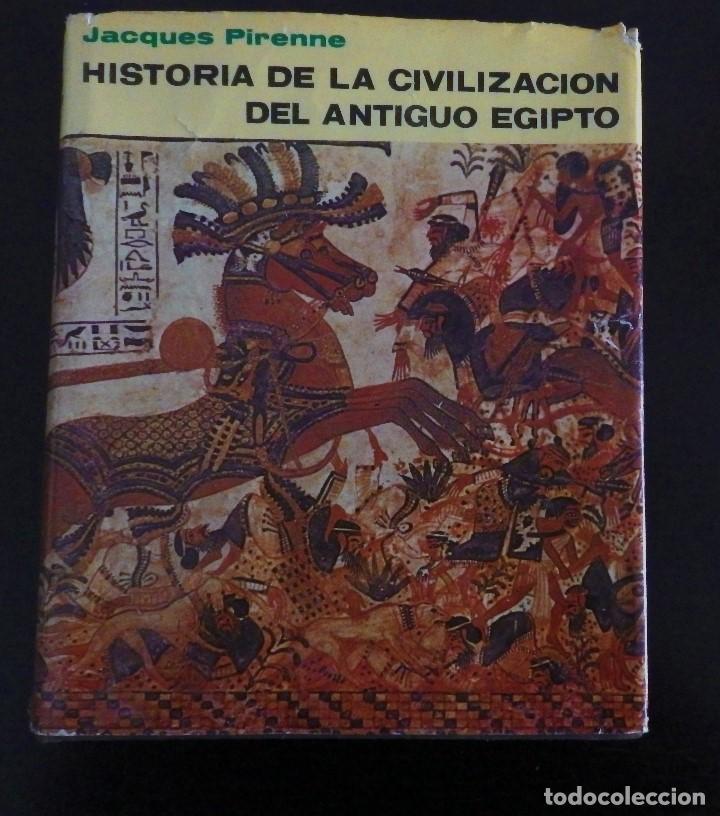 HISTORIA DE LA CIVILIZACION DEL ANTIGUO EGIPTO (Libros antiguos (hasta 1936), raros y curiosos - Historia Antigua)