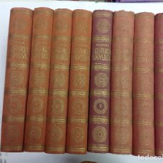 Libros antiguos: HISTORIA UNIVERSAL PIRENNE 8 TOMOS. Lote 139882922