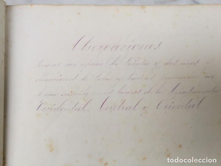 Libros antiguos: Manuscrito Guerra de la independencia de Cuba 1868 1878 - Foto 3 - 140329082