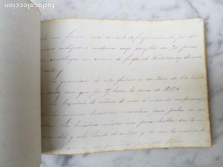 Libros antiguos: Manuscrito Guerra de la independencia de Cuba 1868 1878 - Foto 4 - 140329082