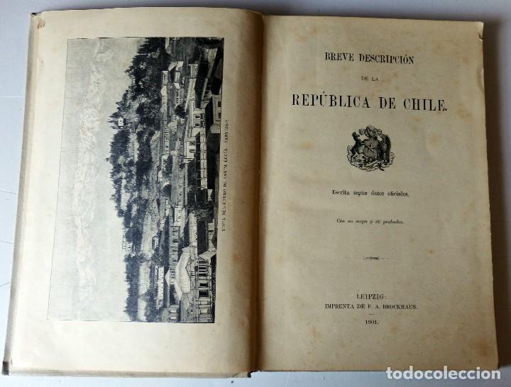 Libros antiguos: REPUBLICA DE CHILE - Foto 2 - 140410338