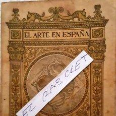 Libros antiguos: EL ARTE EN ESPAÑA - POBLET - EDICIO: TOMAS : Nº 12 -. Lote 140453722