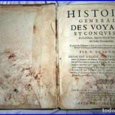 Libros antiguos: AÑO 1660: VIAJES DE LOS CASTELLANOS A LAS INDIAS OCCIDENTALES. LIBRO DE 358 AÑOS DE ANTIGÜEDAD.. Lote 140489270