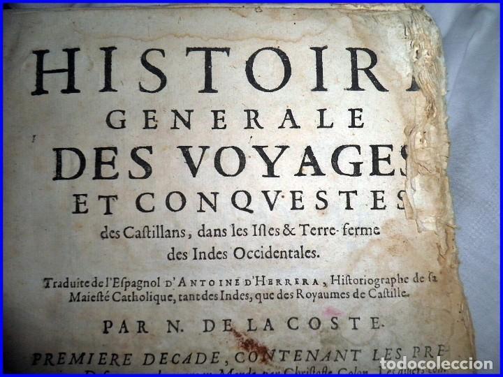 Libros antiguos: AÑO 1660: VIAJES DE LOS CASTELLANOS A LAS INDIAS OCCIDENTALES. LIBRO DE 358 AÑOS DE ANTIGÜEDAD. - Foto 2 - 140489270
