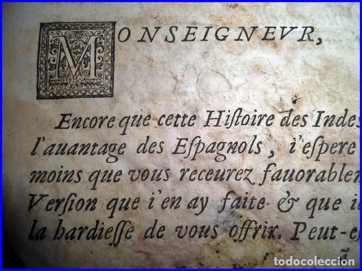 Libros antiguos: AÑO 1660: VIAJES DE LOS CASTELLANOS A LAS INDIAS OCCIDENTALES. LIBRO DE 358 AÑOS DE ANTIGÜEDAD. - Foto 6 - 140489270