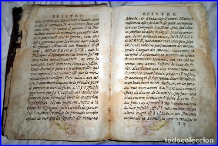 Libros antiguos: AÑO 1660: VIAJES DE LOS CASTELLANOS A LAS INDIAS OCCIDENTALES. LIBRO DE 358 AÑOS DE ANTIGÜEDAD. - Foto 7 - 140489270
