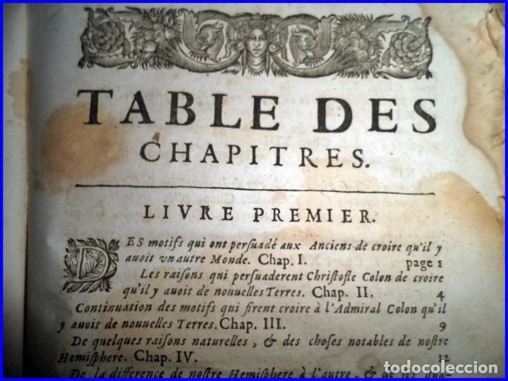 Libros antiguos: AÑO 1660: VIAJES DE LOS CASTELLANOS A LAS INDIAS OCCIDENTALES. LIBRO DE 358 AÑOS DE ANTIGÜEDAD. - Foto 9 - 140489270