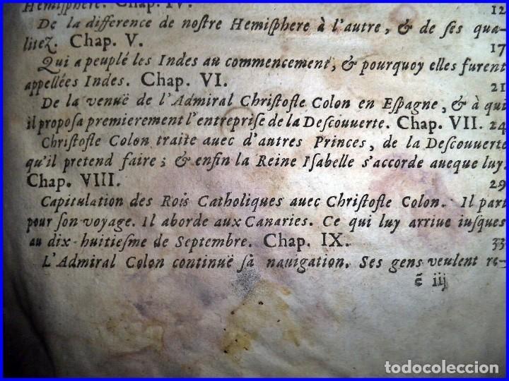 Libros antiguos: AÑO 1660: VIAJES DE LOS CASTELLANOS A LAS INDIAS OCCIDENTALES. LIBRO DE 358 AÑOS DE ANTIGÜEDAD. - Foto 10 - 140489270