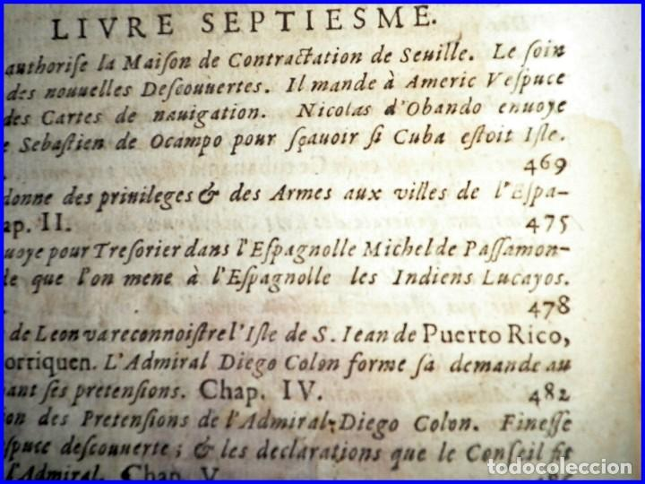 Libros antiguos: AÑO 1660: VIAJES DE LOS CASTELLANOS A LAS INDIAS OCCIDENTALES. LIBRO DE 358 AÑOS DE ANTIGÜEDAD. - Foto 13 - 140489270