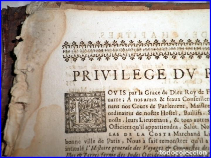 Libros antiguos: AÑO 1660: VIAJES DE LOS CASTELLANOS A LAS INDIAS OCCIDENTALES. LIBRO DE 358 AÑOS DE ANTIGÜEDAD. - Foto 15 - 140489270