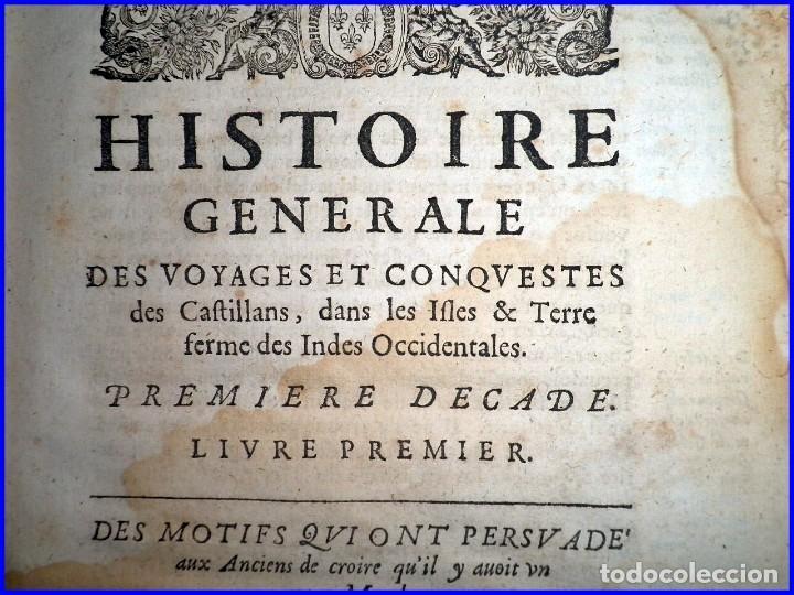 Libros antiguos: AÑO 1660: VIAJES DE LOS CASTELLANOS A LAS INDIAS OCCIDENTALES. LIBRO DE 358 AÑOS DE ANTIGÜEDAD. - Foto 17 - 140489270