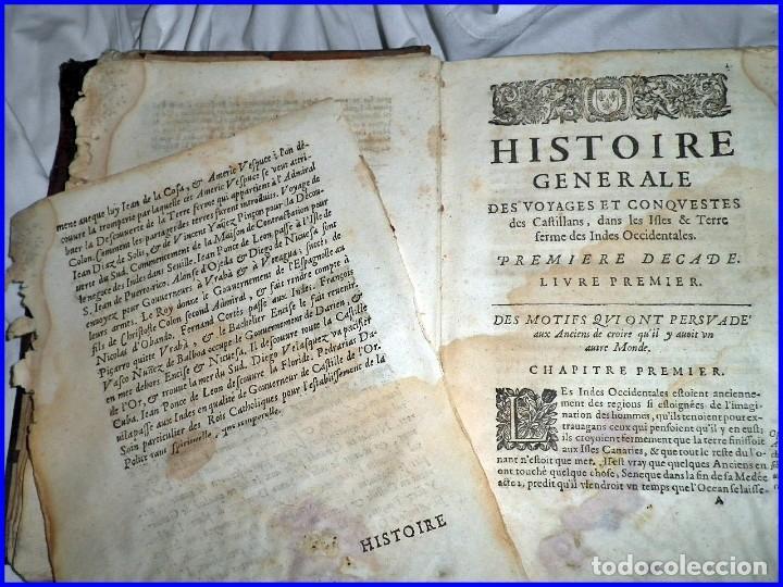 Libros antiguos: AÑO 1660: VIAJES DE LOS CASTELLANOS A LAS INDIAS OCCIDENTALES. LIBRO DE 358 AÑOS DE ANTIGÜEDAD. - Foto 19 - 140489270