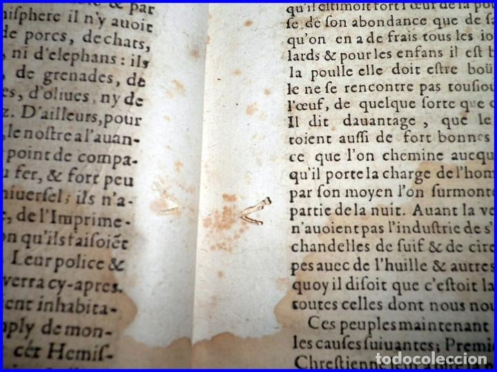 Libros antiguos: AÑO 1660: VIAJES DE LOS CASTELLANOS A LAS INDIAS OCCIDENTALES. LIBRO DE 358 AÑOS DE ANTIGÜEDAD. - Foto 20 - 140489270
