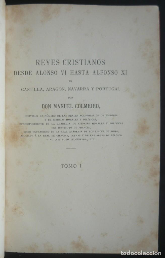 Libros antiguos: 1891 - Monumental Historia Medieval de España - Reyes Cristianos - Edad Media - Ilustrado, Láminas - Foto 7 - 147289893
