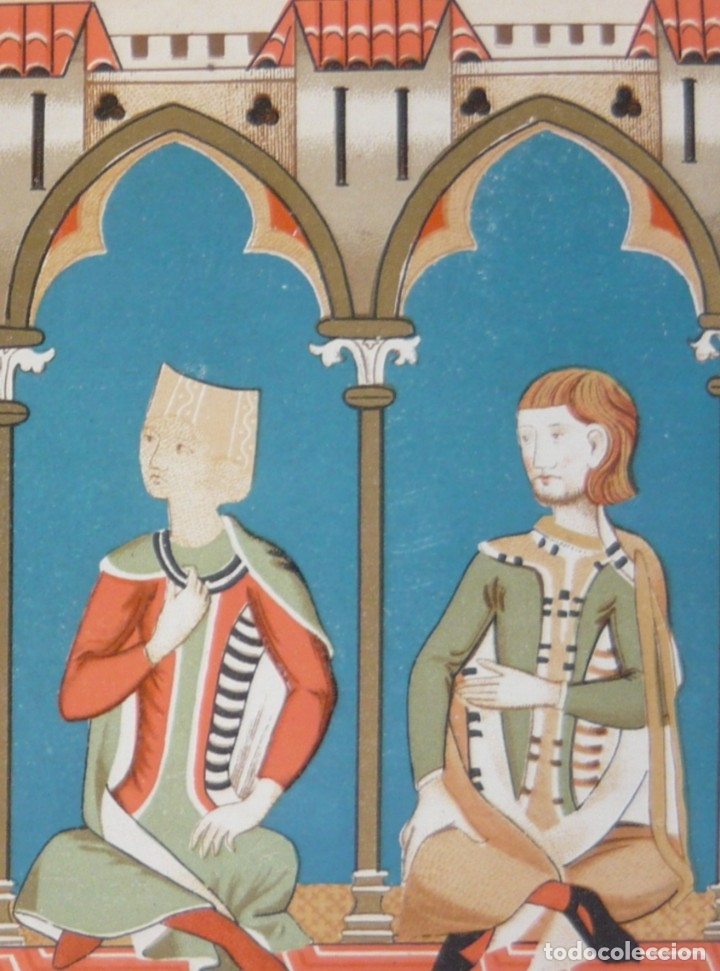 Libros antiguos: 1891 - Monumental Historia Medieval de España - Reyes Cristianos - Edad Media - Ilustrado, Láminas - Foto 24 - 147289893