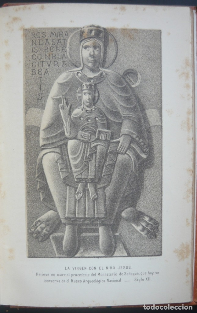 Libros antiguos: 1891 - Monumental Historia Medieval de España - Reyes Cristianos - Edad Media - Ilustrado, Láminas - Foto 26 - 147289893
