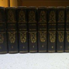 Libros antiguos: LA ESCUELA DEL PUEBLO . 1852. 9 TOMOS. Lote 140790693
