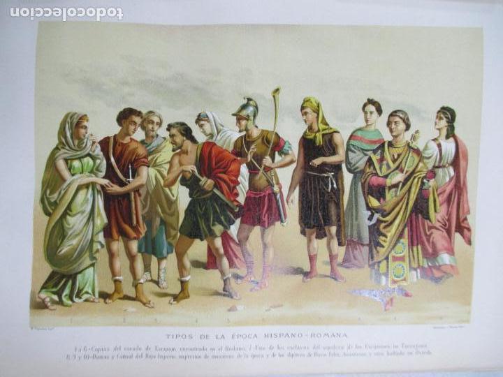 Libros antiguos: HISTORIA GENERAL DE ESPAÑA 1877. MODESTO LAFUENTE. EDICIÓN DE LUJO. 5 TOMOS. 34.5 X 25 CM - Foto 11 - 140848070