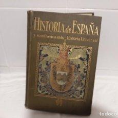 Libros antiguos: LIBRO DE HISTORIA DE ESPAÑA. Lote 141379742