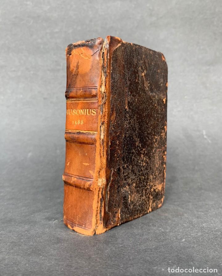 1588 - AUSIONIO - JUSTO LIPSIO - VIRI CONSULARIS OPERA - JULIO CESAR - ANTIGUA ROMA (Libros antiguos (hasta 1936), raros y curiosos - Historia Antigua)