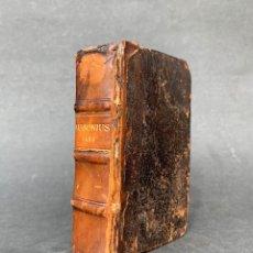 Libros antiguos: 1588 - AUSIONIO - JUSTO LIPSIO - VIRI CONSULARIS OPERA - JULIO CESAR - ANTIGUA ROMA. Lote 141556178