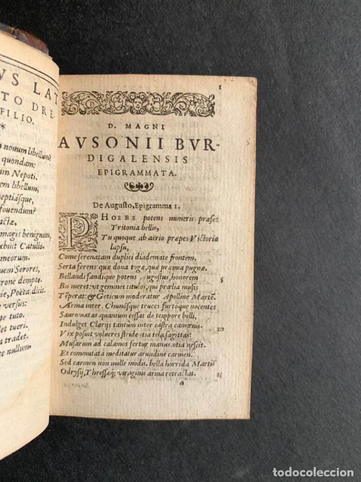 Libros antiguos: 1588 - Ausionio - Justo Lipsio - Viri Consularis Opera - Julio Cesar - Antigua Roma - Foto 7 - 141556178