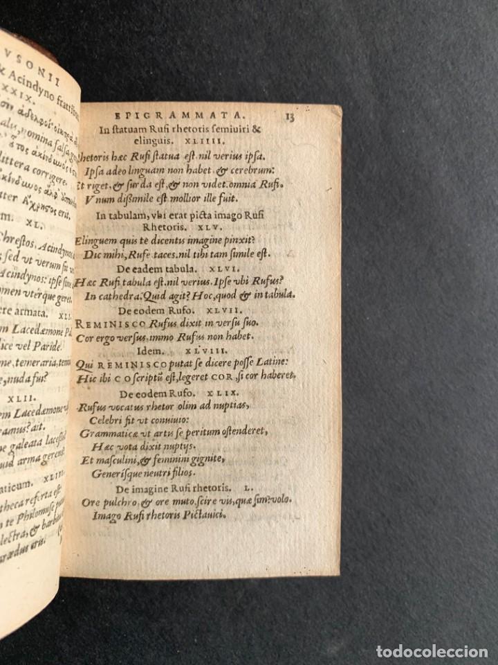Libros antiguos: 1588 - Ausionio - Justo Lipsio - Viri Consularis Opera - Julio Cesar - Antigua Roma - Foto 8 - 141556178