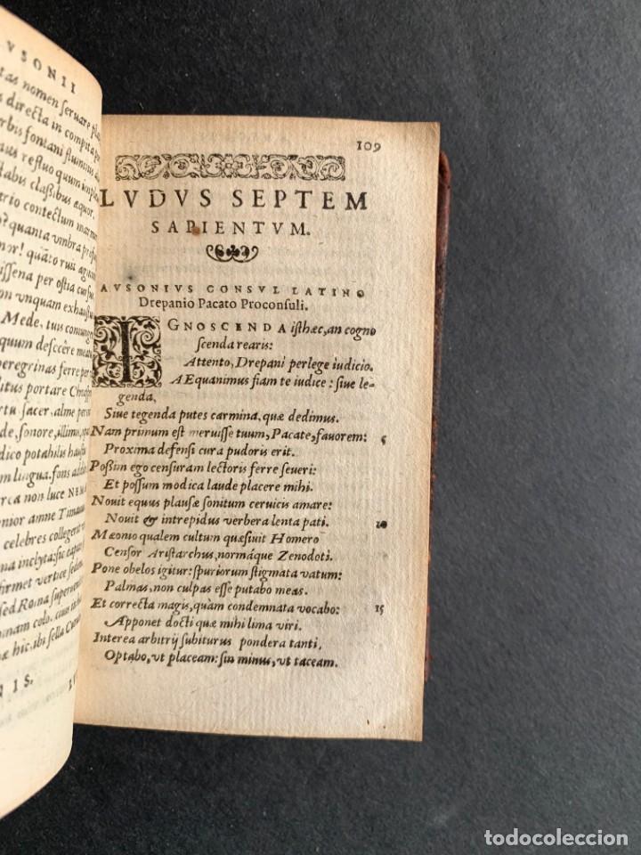 Libros antiguos: 1588 - Ausionio - Justo Lipsio - Viri Consularis Opera - Julio Cesar - Antigua Roma - Foto 11 - 141556178