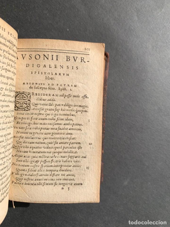 Libros antiguos: 1588 - Ausionio - Justo Lipsio - Viri Consularis Opera - Julio Cesar - Antigua Roma - Foto 16 - 141556178