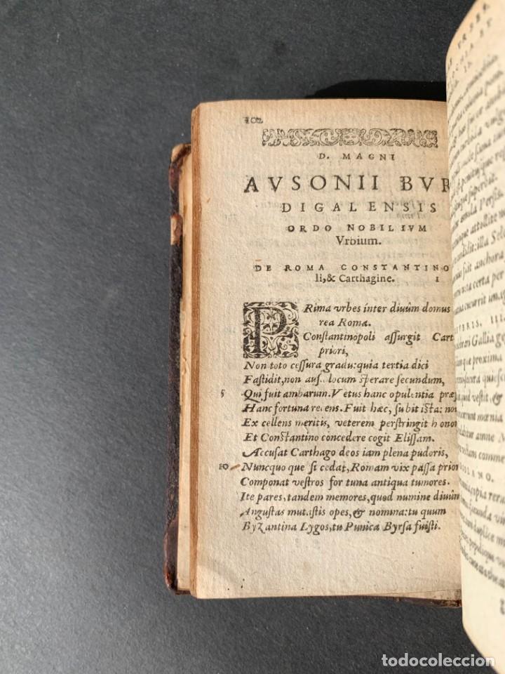 Libros antiguos: 1588 - Ausionio - Justo Lipsio - Viri Consularis Opera - Julio Cesar - Antigua Roma - Foto 18 - 141556178