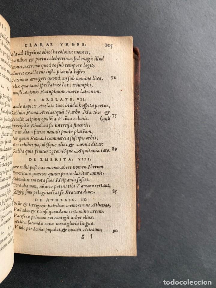 Libros antiguos: 1588 - Ausionio - Justo Lipsio - Viri Consularis Opera - Julio Cesar - Antigua Roma - Foto 19 - 141556178