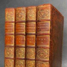 Libros antiguos: 1825 - TITO LIBIO - AB URBE CONDITA - HISTORIA ANTIGUA DE ROMA - ENCUADERNACION. Lote 141656502