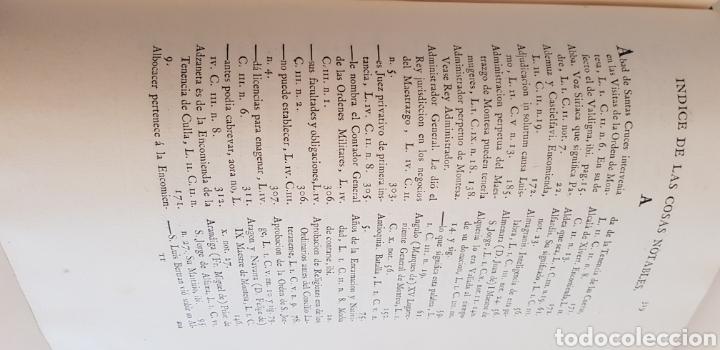 Libros antiguos: Villarroya. Real Maestrazgo de Montesa.1787.primera edicion. - Foto 9 - 141771416
