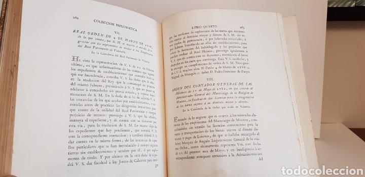 Libros antiguos: Villarroya. Real Maestrazgo de Montesa.1787.primera edicion. - Foto 13 - 141771416