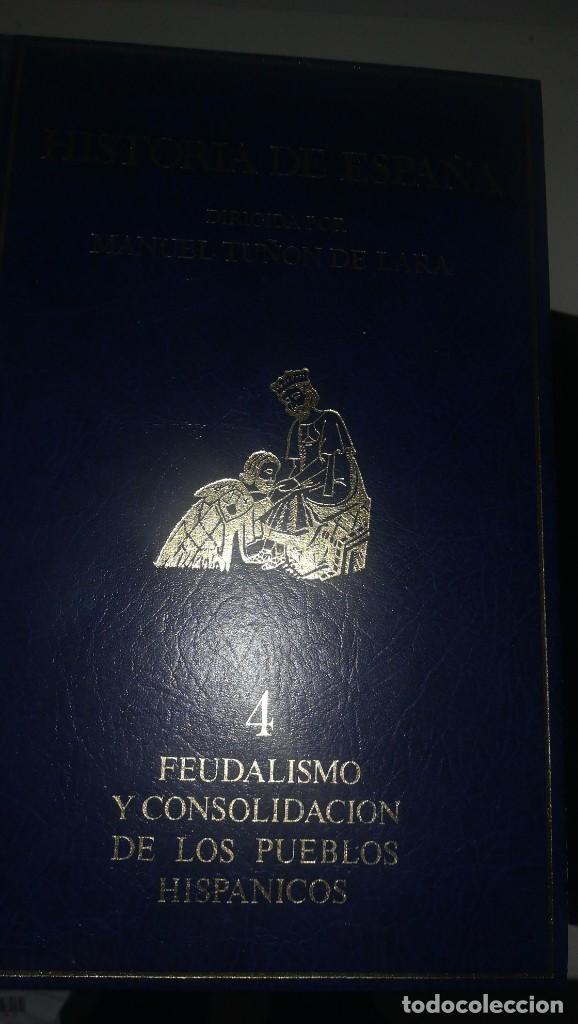 HISTORIA DE ESPAÑA - 4 VOLUMENES (Libros antiguos (hasta 1936), raros y curiosos - Historia Antigua)