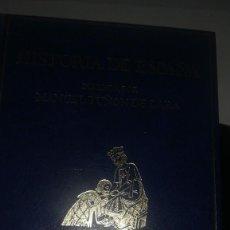 Libros antiguos: HISTORIA DE ESPAÑA - 4 VOLUMENES. Lote 142240634