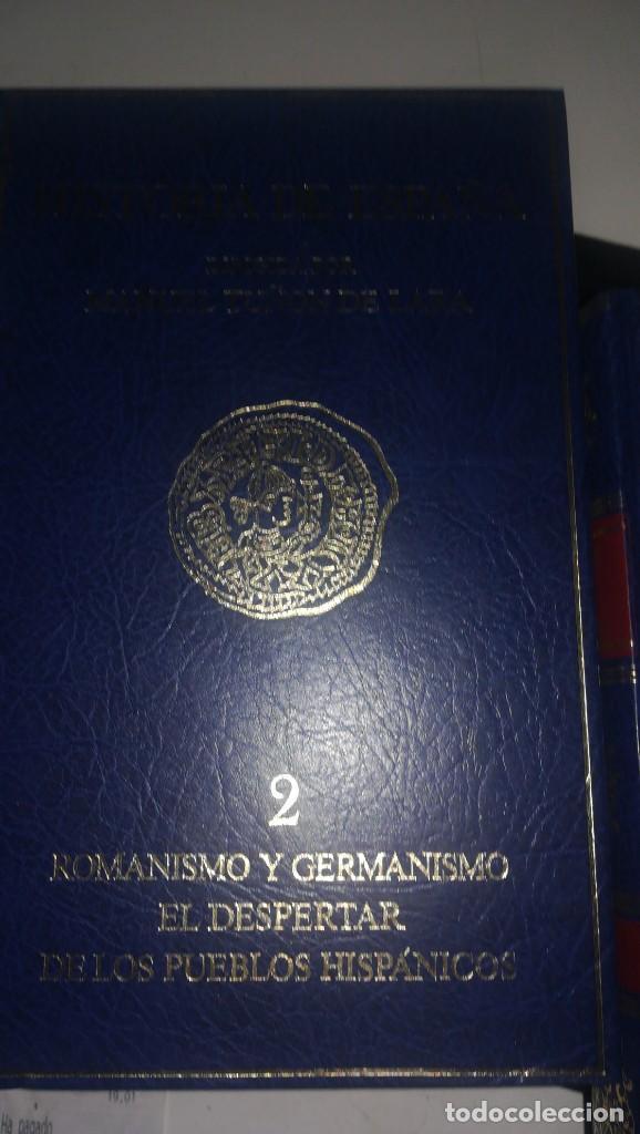 Libros antiguos: Historia de España - 4 volumenes - Foto 3 - 142240634