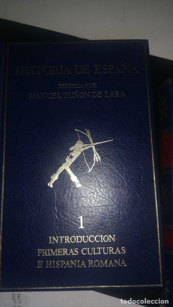 Libros antiguos: Historia de España - 4 volumenes - Foto 4 - 142240634