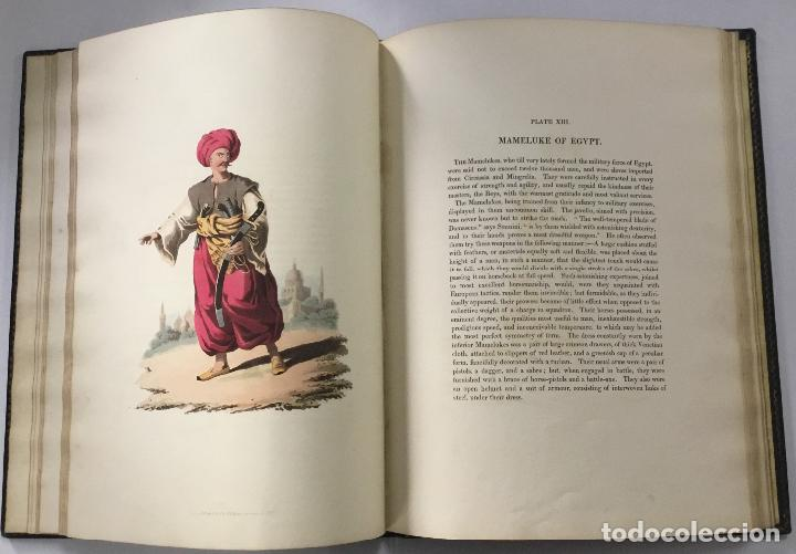 Libros antiguos: THE MILITARY COSTUME OF TURKEY. Illustrated by a series of engravings, from Drawings... London, 1818 - Foto 4 - 142425057