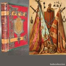 Libros antiguos: 1888 HISTORIA GENERAL DE ESPAÑA - RECONQUISTA - EDAD MEDIA - MONEDA - NUMISMATICA. Lote 143043722