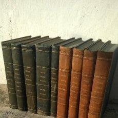 Libros antiguos: 9 TOMOS DE CRONICAS DE LAS PROVINCIAS DE ESPAÑA 1865-1870 MUY RARO.. Lote 143058914