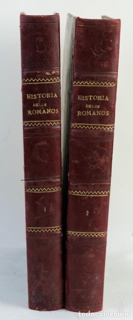 HISTORIA DE LOS ROMANOS-VICTOR DURUY-ED.MONTANER Y SIMON, BARCELONA 1888-DOS TOMOS (Libros antiguos (hasta 1936), raros y curiosos - Historia Antigua)