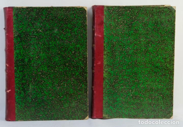 Libros antiguos: Historia de los romanos-Victor Duruy-Ed.Montaner y Simon, Barcelona 1888-dos tomos - Foto 2 - 143181174