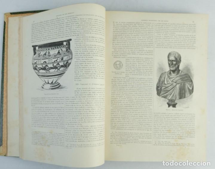 Libros antiguos: Historia de los romanos-Victor Duruy-Ed.Montaner y Simon, Barcelona 1888-dos tomos - Foto 7 - 143181174