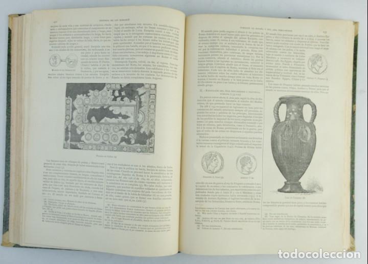 Libros antiguos: Historia de los romanos-Victor Duruy-Ed.Montaner y Simon, Barcelona 1888-dos tomos - Foto 8 - 143181174