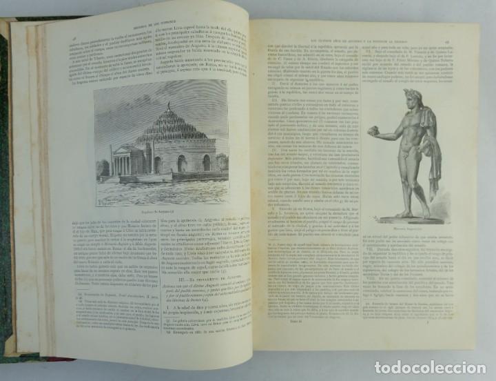 Libros antiguos: Historia de los romanos-Victor Duruy-Ed.Montaner y Simon, Barcelona 1888-dos tomos - Foto 10 - 143181174