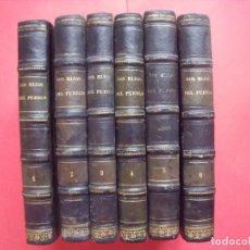 Libros antiguos: EUGENIO SUE.-LOS HIJOS DEL PUEBLO.-HISTORIA DE VEINTE SIGLOS.-LAUREANO MACIAS GASTON.-GRABADOS.-1858. Lote 143691474