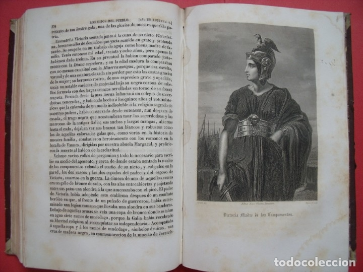 Libros antiguos: EUGENIO SUE.-LOS HIJOS DEL PUEBLO.-HISTORIA DE VEINTE SIGLOS.-LAUREANO MACIAS GASTON.-GRABADOS.-1858 - Foto 4 - 143691474