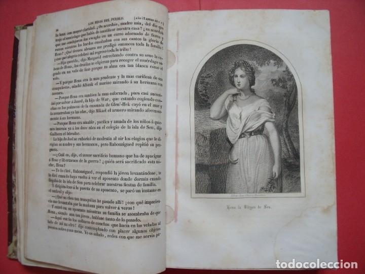 Libros antiguos: EUGENIO SUE.-LOS HIJOS DEL PUEBLO.-HISTORIA DE VEINTE SIGLOS.-LAUREANO MACIAS GASTON.-GRABADOS.-1858 - Foto 7 - 143691474