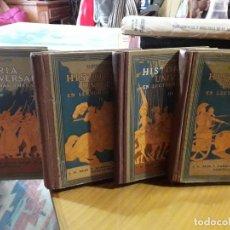 Libros antiguos: HISTORIA UNIVERSAL 4 TOMOS. Lote 144769382